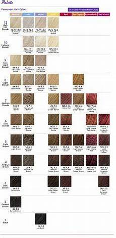 Ion Hair Color Chart Ion Color Brilliance Chart Photo