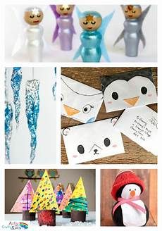 16 easy winter crafts for arty crafty winter