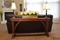 narrow sofa table buildsomething