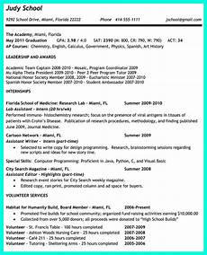 Examples Of College Resume The Perfect College Resume Template To Get A Job