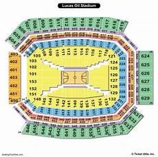 Lucas Oil Seating Chart Lucas Oil Stadium Seating Chart Seating Charts Amp Tickets