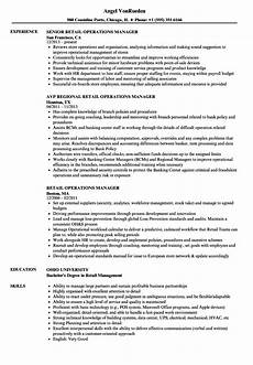 Resume Examples Retail Manager Retail Operations Manager Resume Samples Velvet Jobs