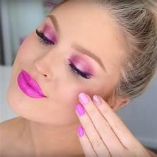 tutorials for pink makeup looks popsugar uk