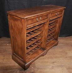 oak wine server sideboard buffet cabinet cellar