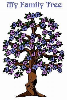 Printable Family Tree For Kids A Printable Blank Family Tree To Make Your Kids Genealogy