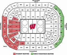Wisconsin Badgers Seating Chart University Of Wisconsin Online Ticket Office Seating