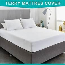 90x190cm cotton terry waterproof mattress cover dust mites
