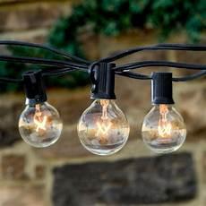 Brightech Lights Brightech Ambience 25 Light 25 Ft Globe String Lights