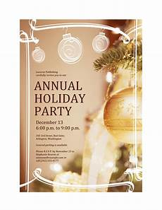 Annual Holiday Party Invitation Template Download Free Printable Invitations Of Holiday Party