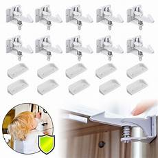 cabinet locks child safety latches 10 pack baby proofing