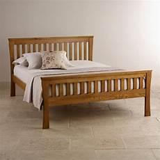 orrick rustic solid oak king size bed bedroom furniture