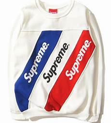 supreme clothes supreme sweatshirts striped casual hoodies brand clothing