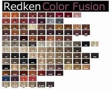 Redken Cover Fusion Color Chart Redken Hair Color Chart Carol G Pinterest Colors
