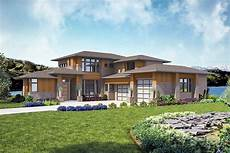 modern 4 bed house plan with indoor outdoor living