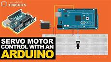 Arduino Servo Motor Control Servo Motor Control With An Arduino Arduino Direct Youtube