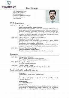 Resume Format Standard Trends Job Resume Template Resume Format For Freshers