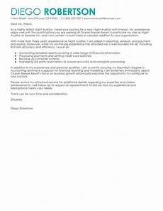 Night Auditor Cover Letter Best Night Auditor Cover Letter Examples Livecareer