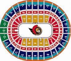 Ottawa Senators Seating Chart Scotiabank Place Scotiabank Place Arena Der Senators