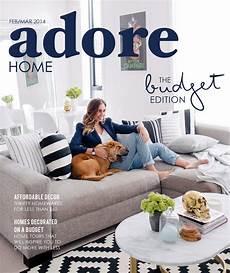 home decor magazine adore home cover adore home cover
