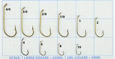 Hook Size Chart Mustad Viking 540 French Model Fishing Hooks Boxes