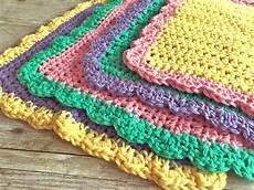 washcloth free crochet pattern swanjay