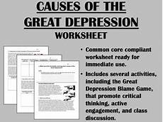 Causes Of The Great Depression Causes Of The Great Depression Us History Common Core