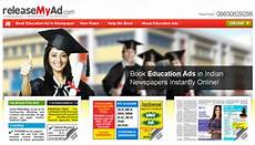 book education newspaper advertisements instantly