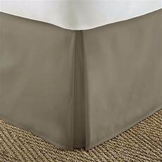 pleated bed skirt dust ruffle by soft bedding essentials