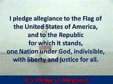 Another Word For Pledge U S Pledge Of Allegiance Hear And Read The Full Text