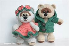 honey teddy bears in amigurumi crochet free