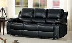 homelegance oriole reclining sofa with center drop