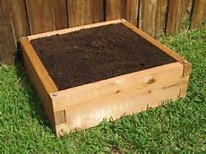 2x2 raised garden bed cedar bed gardeninminutes
