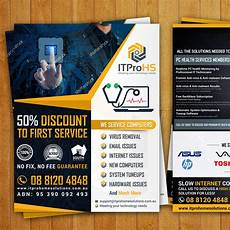 Computer Repair Flier Create A Modern Flyer For A Computer Repair And Services