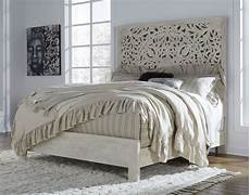 bantori white king panel bed from coleman furniture