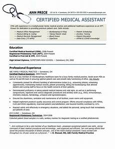 Medical Assistant Duties And Responsibilities List 32 Best Of Medical Assistant Duties For Resume In 2020