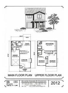 Small 2 Story Floor Plans Small Cabin Plans Cabin Floor House Plans