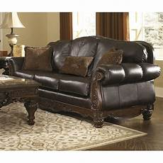 shore leather sofa in brown 2260338