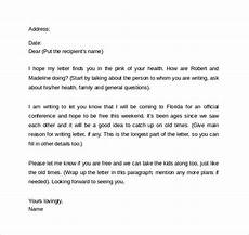 Example Of Friendly Letter Free 7 Sample Friendly Letter Templates In Pdf Ms Word