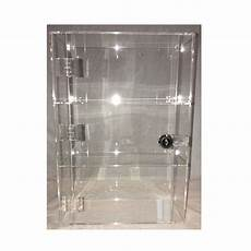 1 high gloss clear acrylic display with front door