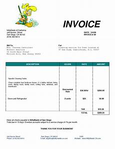 House Cleaning Invoice Example Cleaning Invoice Template Uk Invoice Example