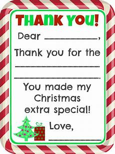thank you template for gift card free fill in the blank thank you cards printable