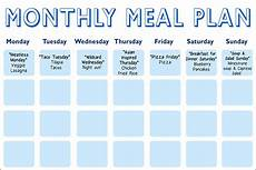 Meal Prep Calendar Daphne Oz S Meal Planning Calendar The Dr Oz Show