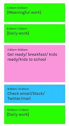 Block Schedule App Pin By Hodikina On дизайн блоков In 2020 Time