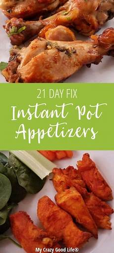 healthy instant pot appetizers my