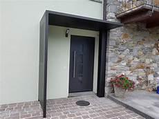 tettoie per porte d ingresso porta d entrata con pensilina in alluminio doorsystem sa