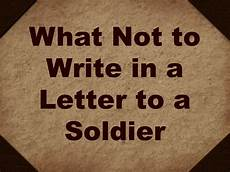 How To Write A Letter To A Soldier Birthday Quotes For A Soldier Quotesgram