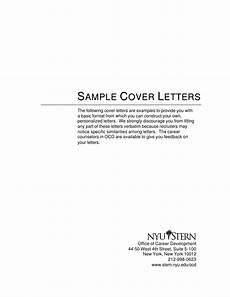 Basic Sample Resume Cover Letter Cover Letter Samples