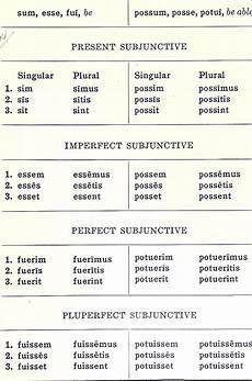 Latin Syntax Chart Subjunctive Morphology Paradigms Latin Ii For Rabbits