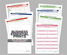 Small Business Budget Worksheet Small Business Finance Budget Worksheet Questionnaire