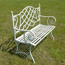 panchine in ferro battuto panca da giardino in ferro battuto tavoli sedie panchine